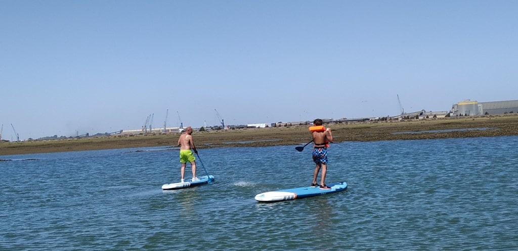 paddle surf con remo